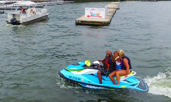 Sea-doo Gti 130 Jet Ski Rental In Lake Ozark, Missouri