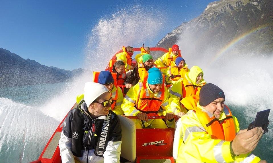 Exciting Jet Boat Rides In Bönigen, Switzerland