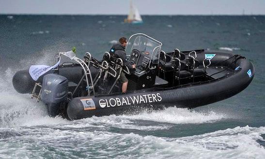 Charter Rigid Inflatable Boat In Kiel, Schleswig-holstein