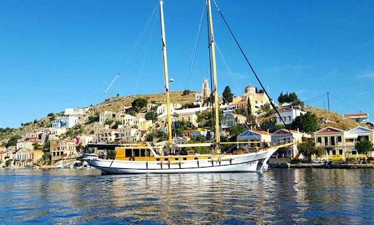 New Luxury 4 Cabin's Gulet For Charter In Croatia :m/s Kavira 2