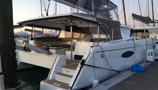 2014-44' Helio Fountaine Pajot-all Inclusive Sailing Experience