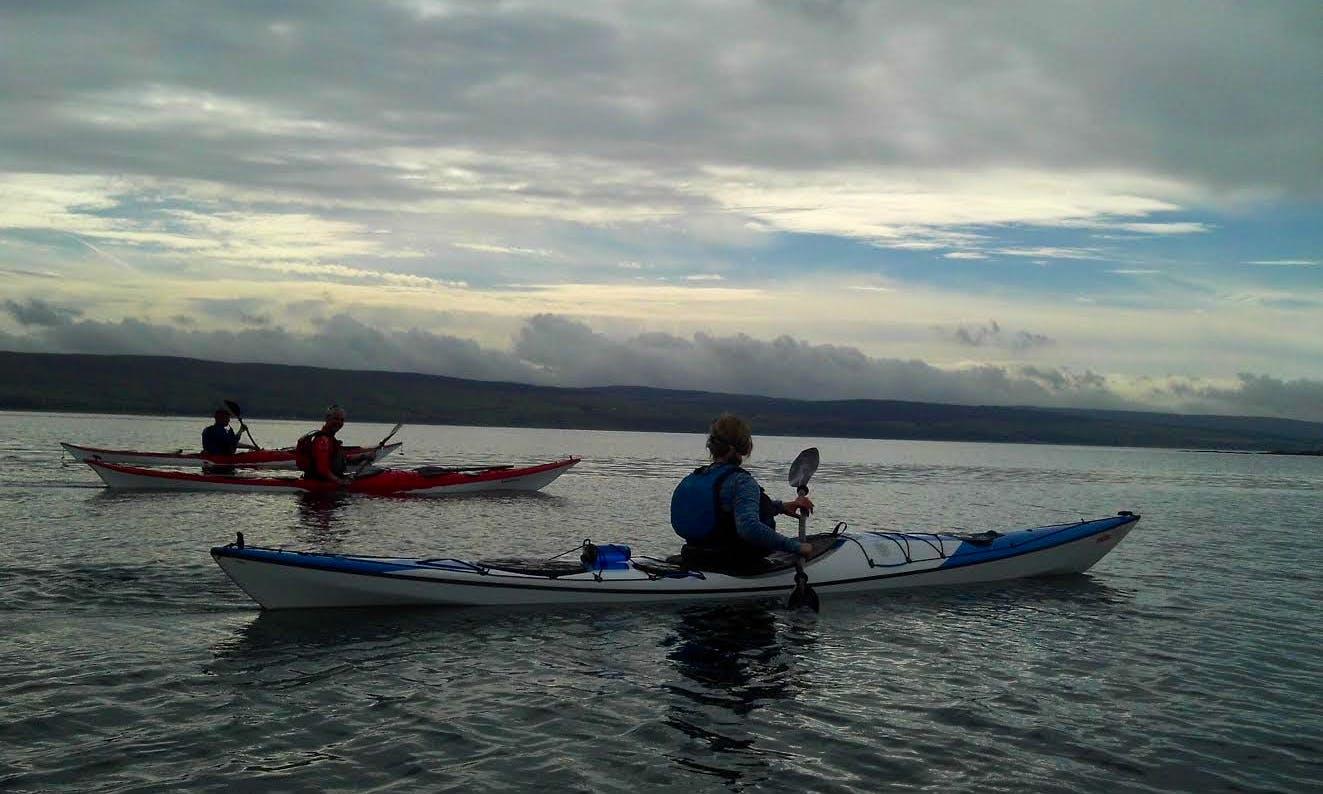 Kayaking In Kirkoswald