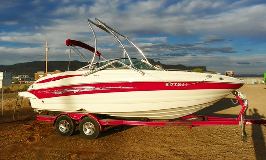 Rent The 24' Crownline Power Boat In Big Water, Ut