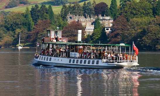Charter 145' Passenger Boat In Bowness-on-windermere, England