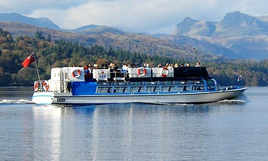 Charter 66' Canal Boat In Bowness-on-windermere, England
