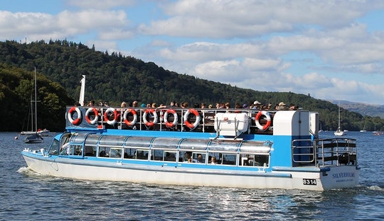 Charter 53' Canal Boat In Bowness-on-windermere, England