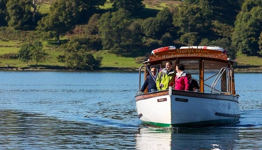 Charter 45' Canal Boat In Bowness-on-windermere, England
