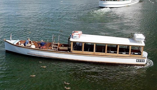 Charter 45' Sunflower Canal Boat In Bowness-on-windermere, England
