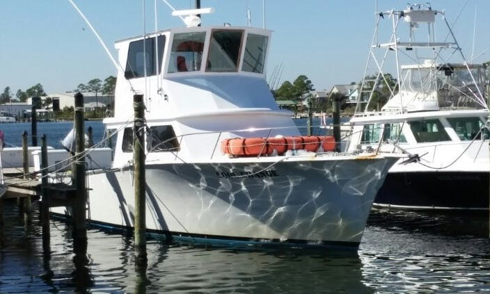 "46ft ""Cool Change"" Fishing Yacht Charter in Orange Beach, Alabama"