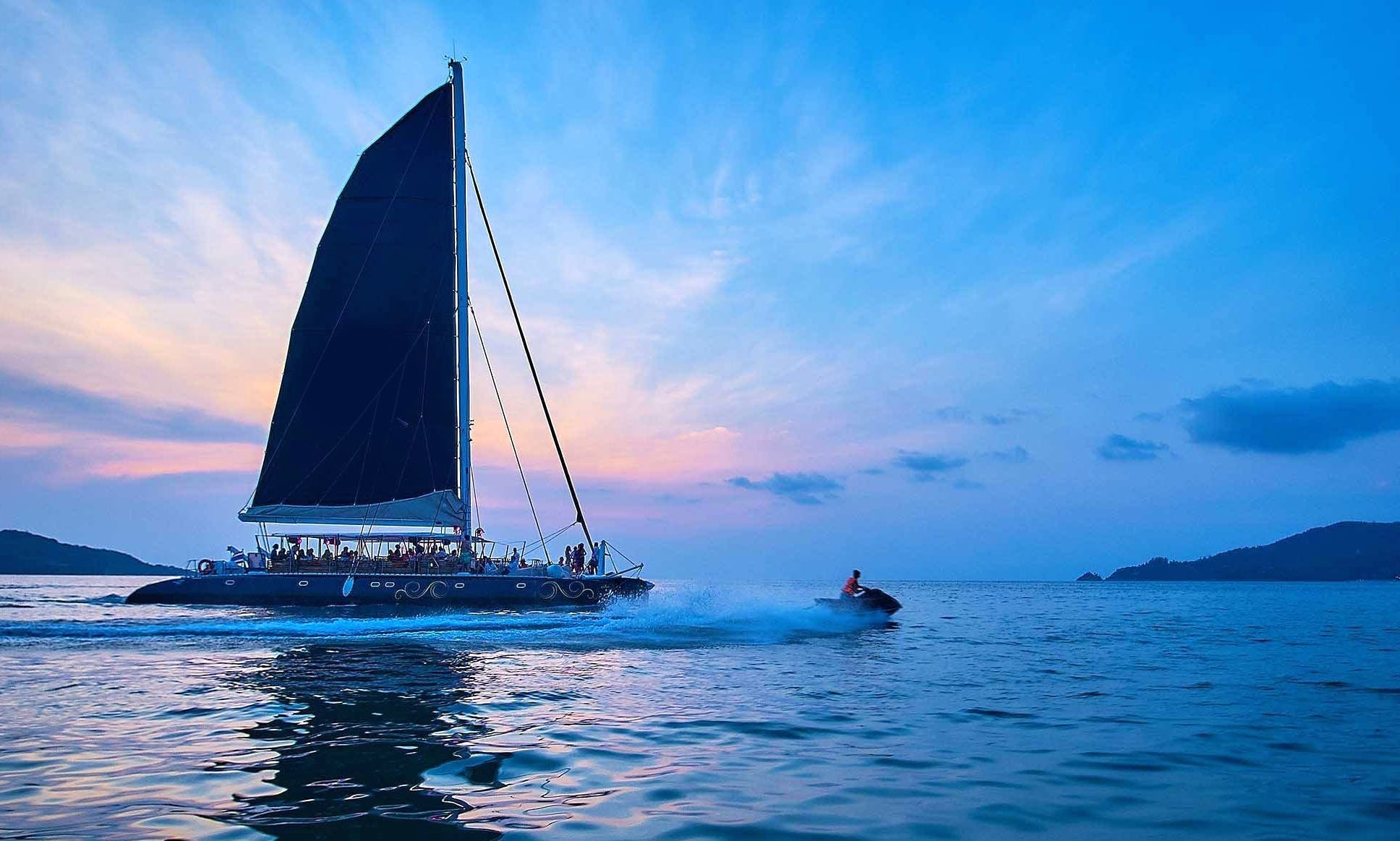 Ocean Voyager Cruising Catamaran Charter for Up to 60 People in Phuket, Thailand