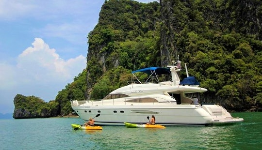 20-person Princess 65 Motor Yacht Charter In Phuket, Thailand