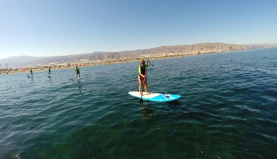 Enjoy Stand Up Paddleboard Courses & Rental In Motril, Andalucía