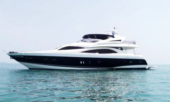 Sunseeker 90 motor yacht to rent in Phuket