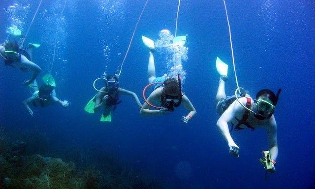 Boat day snorkeling/diving fun