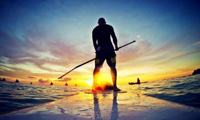 Stand Up Paddleboarding From Bastimento Island, Panama