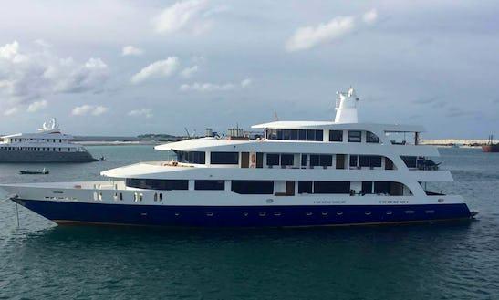 Charter 145' Power Mega Yacht In Male, Maldives