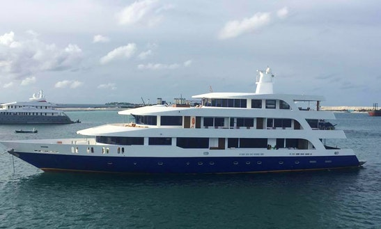 Charter 145' Power Mega Yacht In Male, Maldives