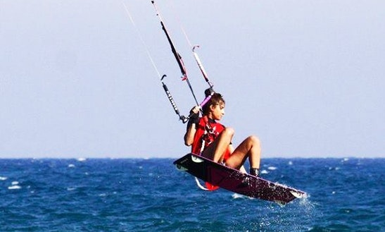 Enjoy Kiteboarding Rental & Lessons In Mazotos, Cyprus