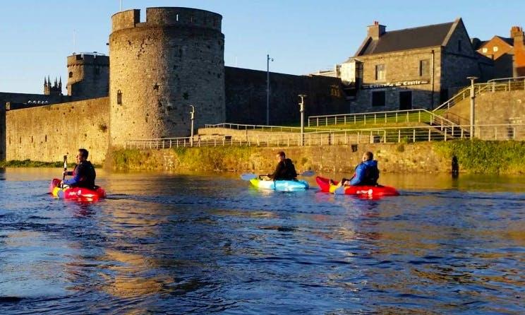 Enjoy Single Kayak Tours in Limerick, Ireland