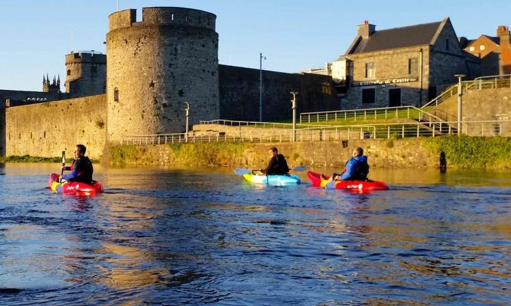 Enjoy Single Kayak Tours in Limerick, Ireland