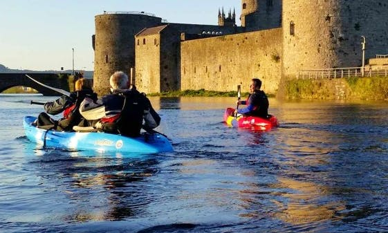 Enjoy Double Kayak Tours in Limerick, Ireland