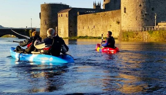 Enjoy Double Kayak Tours In Limerick, Ireland