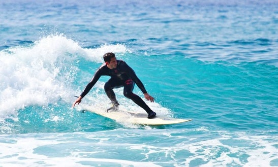 Enjoy Surf Rental & Lessons In Mazotos, Cyprus