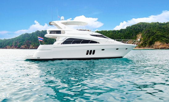 Charter A Gorgeous 15 Person Marquis 56 Motor Yacht In Phuket, Thailand!