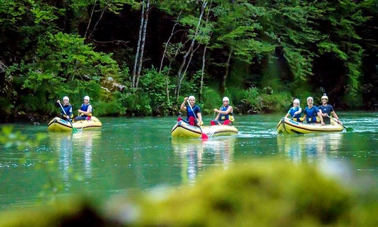 Enjoy Mini Rafting Trips In Kočevje, Slovenia