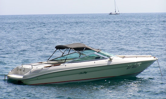Sea Ray 180 Deck Boat Rental In Dubrovnik, Croatia