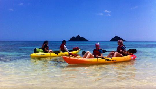 Tandem Kayak Rental In Kailua, Hawaii