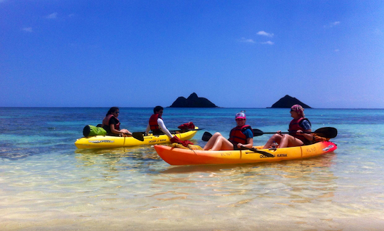 Tandem Kayak Rental In Kailua, Hawaii