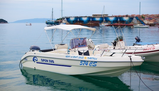 Gs Nautica 580 For 6 People - Day Boat Rental In Cres, Croatia
