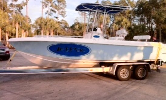 Center Console Fishing Charter In Ormond Beach