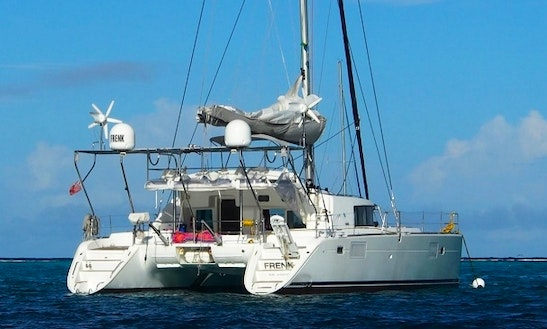 Lagoon 440 Cruising Catamaran Charter In Marigot Or Bvi