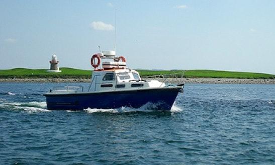 Enjoy Fishing In Sligo, Ireland On 33' Trawler