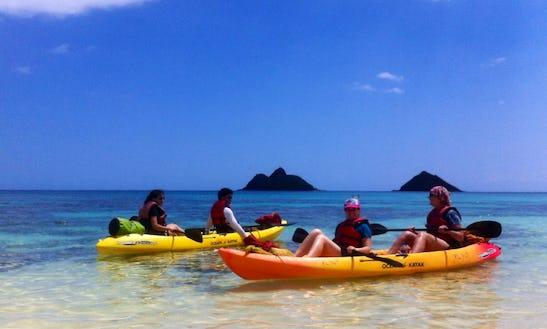 Kayak Guided Tours In Kailua, Hawaii