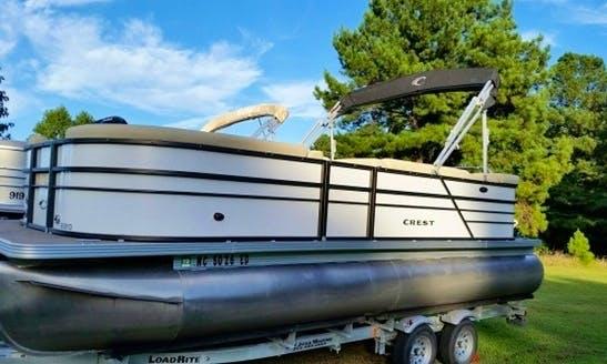 Pontoon Adventure on North Carolina's Beatufiful Lakes
