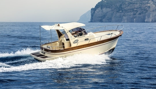 Charter A 2014 Sparviero 700 Ruby Yacht In Positano, Italy