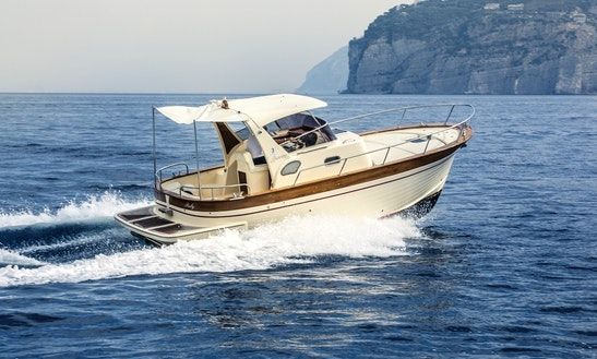 Charter A 2014 Sparviero 700 Ruby Yacht In Sorrento, Italy