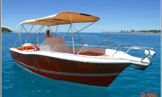 'hermès', Luxury Speed Boat, Private Excursions In Bora Bora