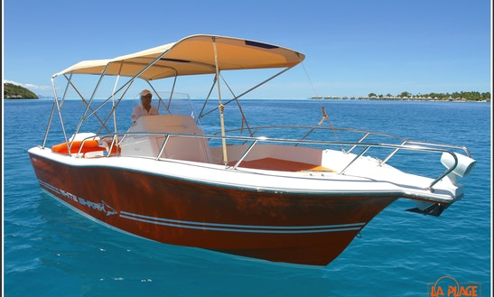 'hermès', Luxury Speed Boat, Private Excursions In Bora Bora