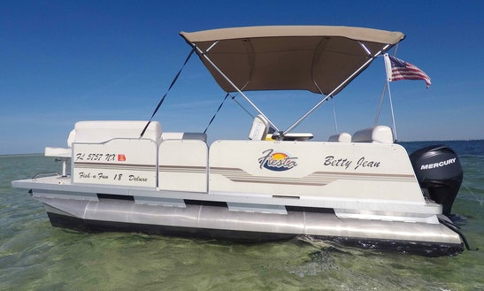 Blowfish House & Pontoon Boat