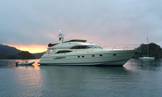Motor Yacht Rental In The Pacific Island