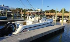 "28ft ""Boston Whaler"" Sport Fisherman Boat Fishing Charter in Myrtle Beach, Carolina"