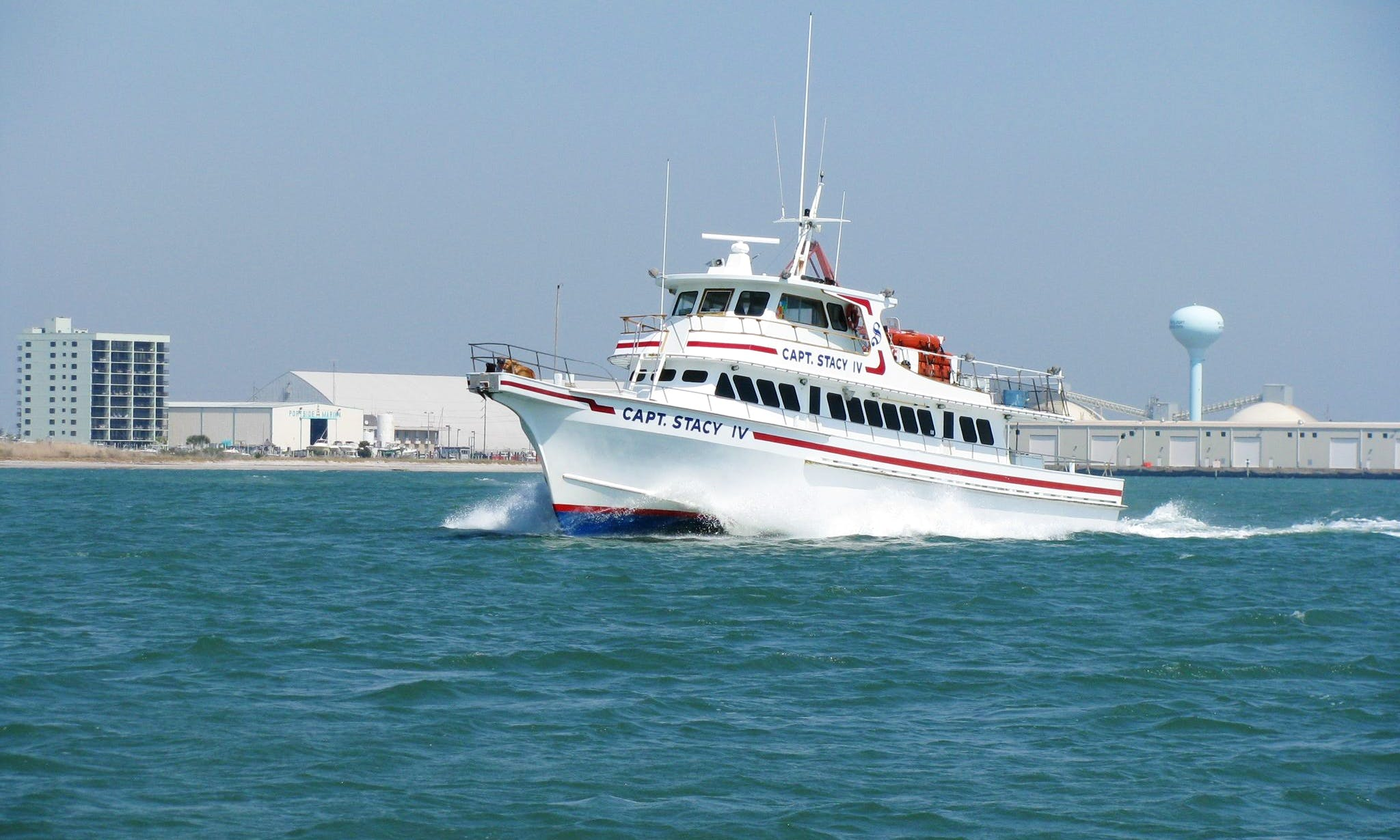 "Enjoy 83ft Head Boat ""Capt. Stacy IV"" Fishing Trips in Atlantic Beach"