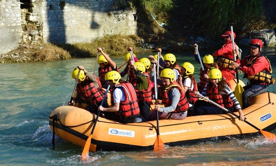 Enjoy Rafting Trips In Berat County, Albania