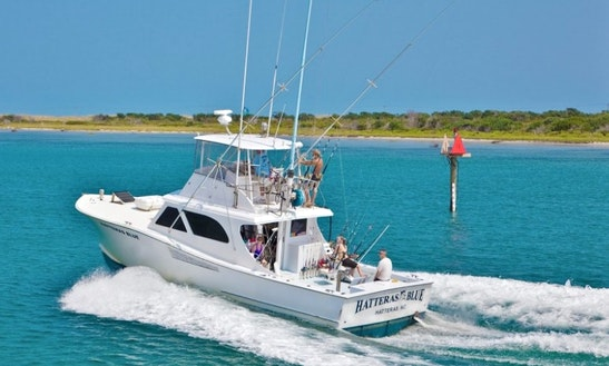 Fishing Charter On 48' Carolina Yacht In Hatteras, North Carolina