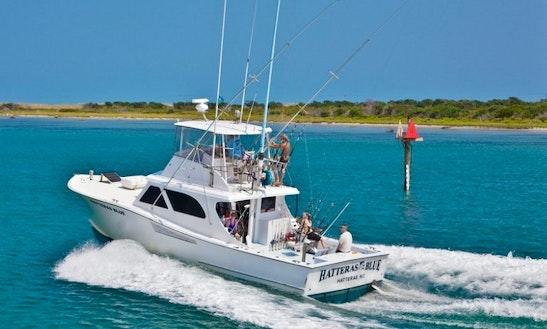 Fishing Charter On 48' Carolina Yacht In Hatteras, North Carolina