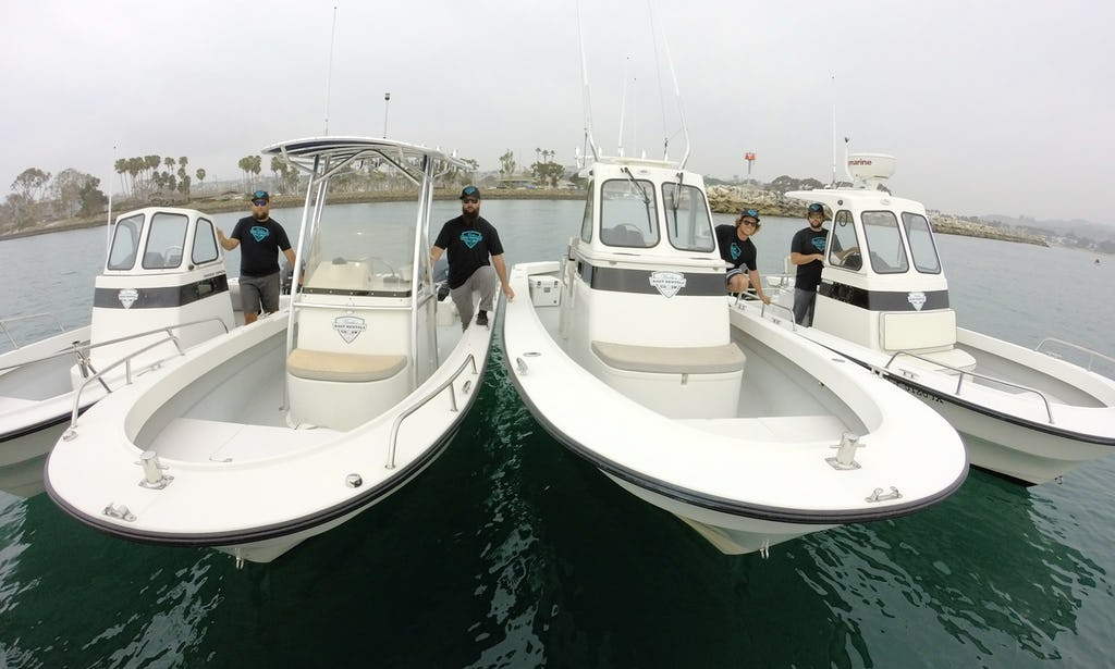 Best 21 Ft Center Console Rental In Dana Point Southern California